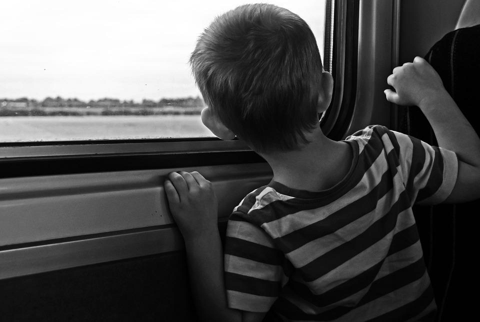 cestování s malým dítětem